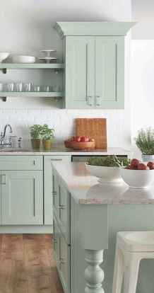 33 Incredible Farmhouse Gray Kitchen Cabinet Design Ideas