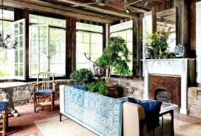 36 Cozy Farmhouse Sunroom Decor Ideas