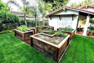 36 Easy DIY Raised Garden Bed Design Front and Backyard Landscaping Ideas
