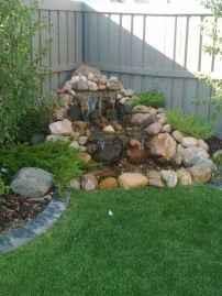 37 Unique Backyard Garden Water Feature Landscaping Ideas