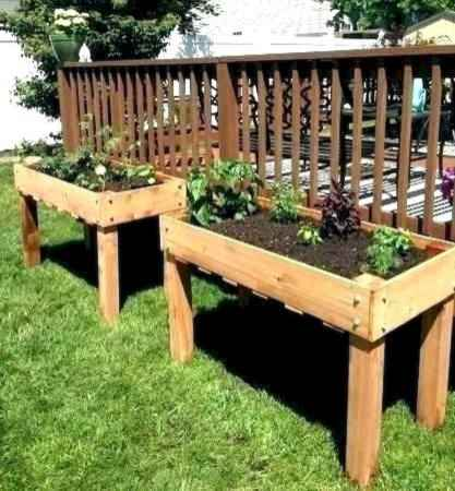 38 Easy DIY Raised Garden Bed Design Front and Backyard Landscaping Ideas