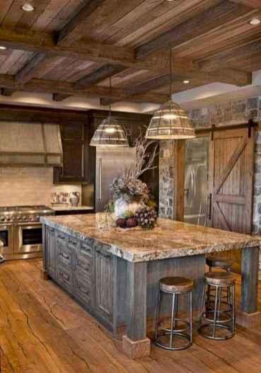 38 Incredible Farmhouse Gray Kitchen Cabinet Design Ideas