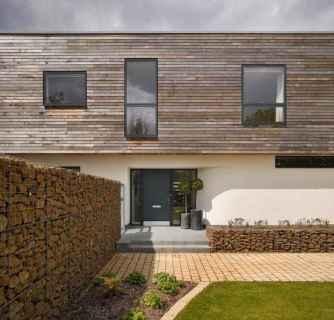 39 Fabulous Gabion Fence Design for Garden Landscaping Ideas