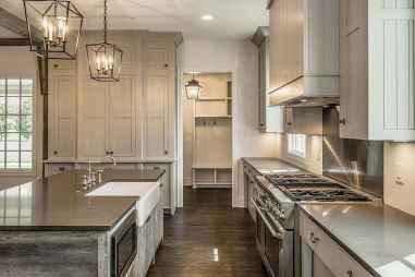 39 Incredible Farmhouse Gray Kitchen Cabinet Design Ideas
