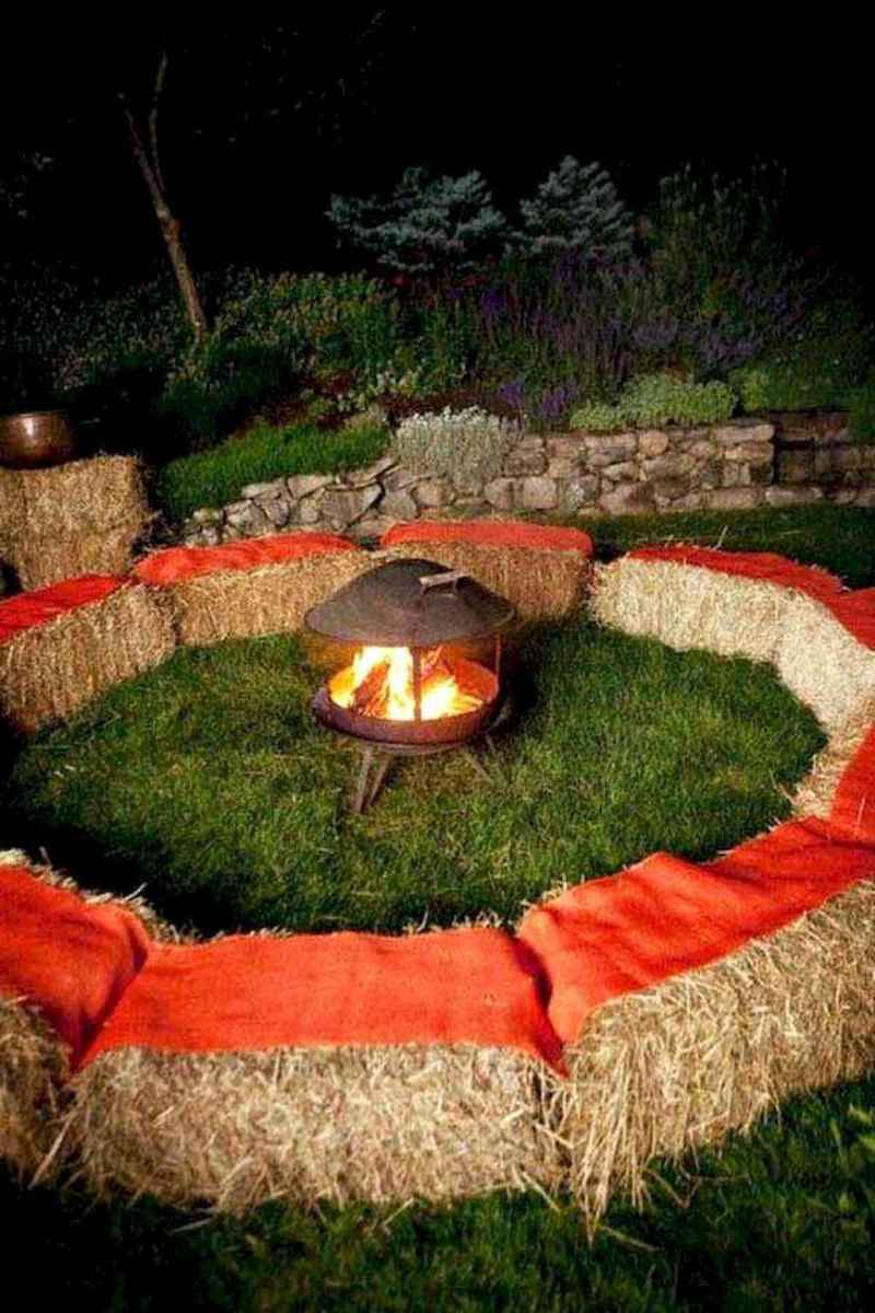 40 Easy Backyard Fire Pit with Cozy Seating Area Ideas