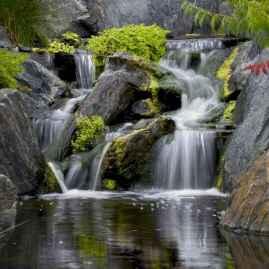 40 Unique Backyard Garden Water Feature Landscaping Ideas