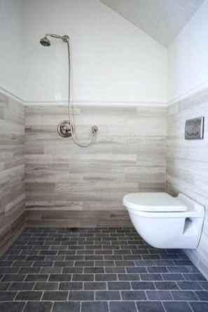 42 Awesome Farmhouse Bathroom Tile Floor Decor Ideas