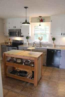 42 Functional Farmhouse Kitchen Island Design Ideas