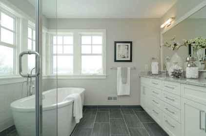43 Awesome Farmhouse Bathroom Tile Floor Decor Ideas