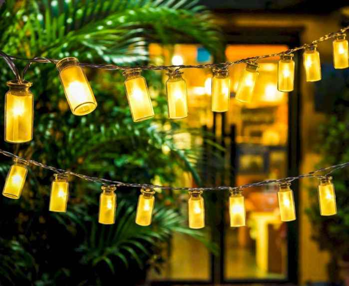 45 Easy and Creative DIY Outdoor Lighting Ideas