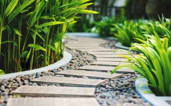 45 Fabulous Garden Path and Walkway for Front and Backyard Ideas