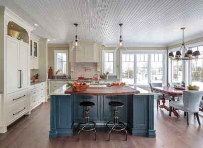 46 Functional Farmhouse Kitchen Island Design Ideas