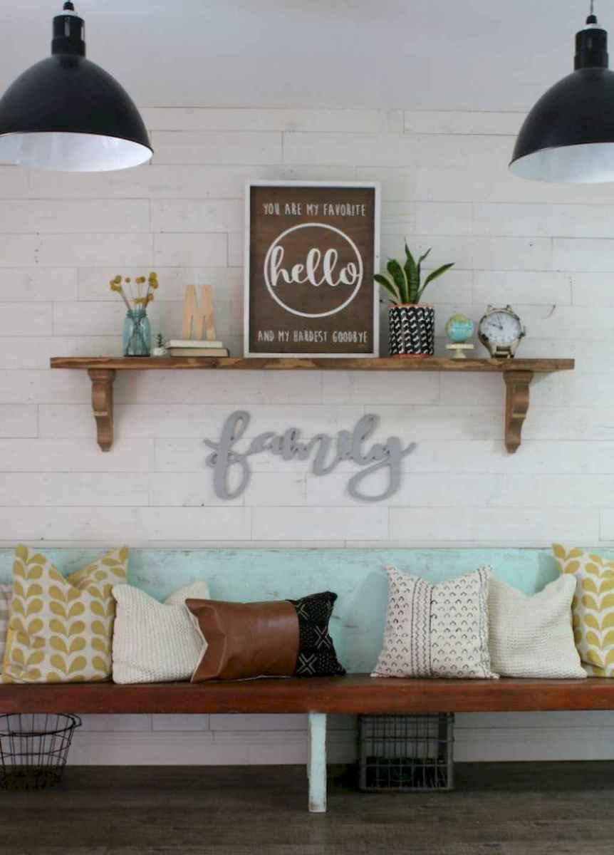 54 Inspiring Farmhouse Entryway Decor Ideas