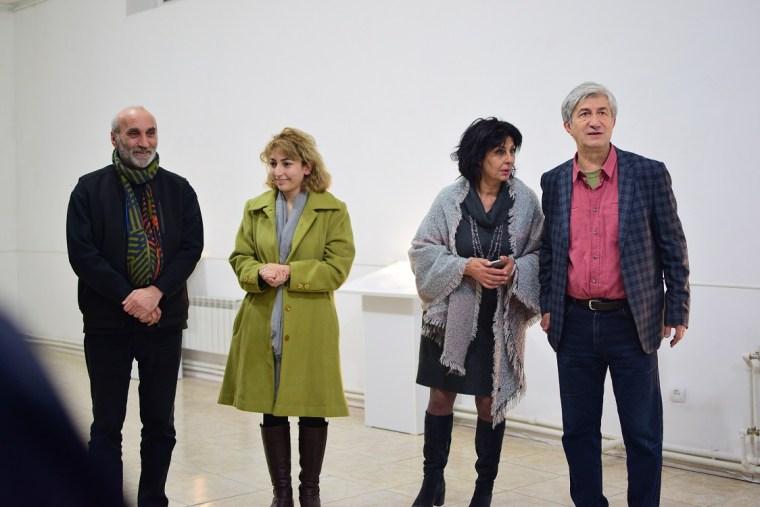 To see with fingers Curator N. Karoyan Artlabyerevan partner in Yerevan modern art museum