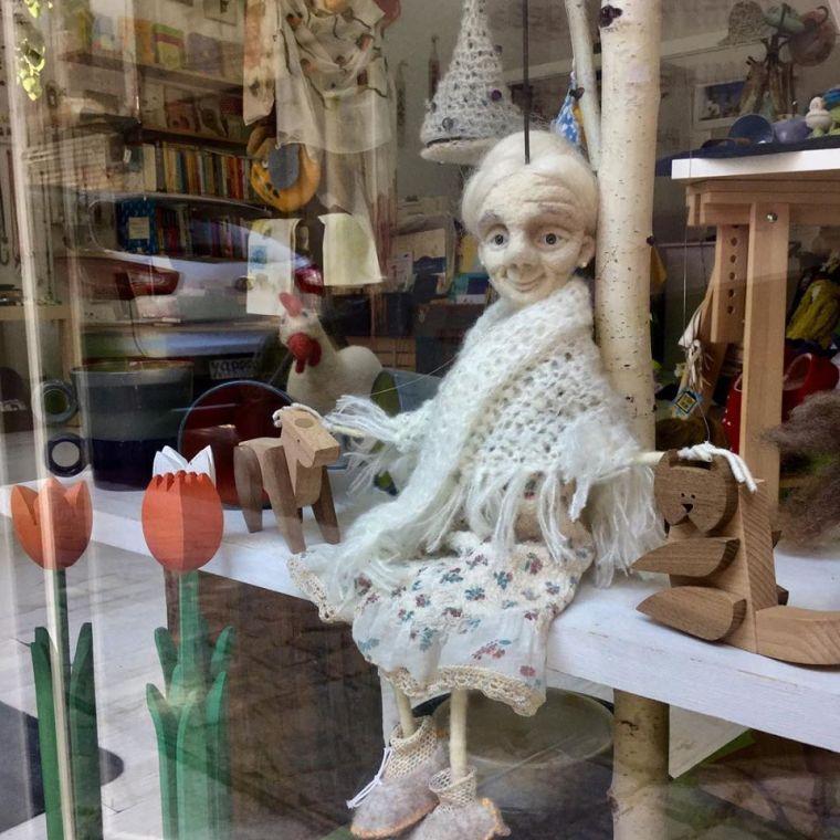 Yaroslava Bykova white granny