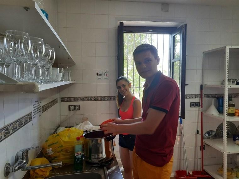 stilian stefanov katerina stefanova preparing the bulgarian dinner 1