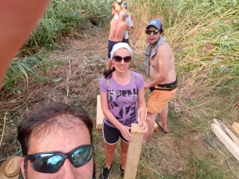 atanasovsko lake team work