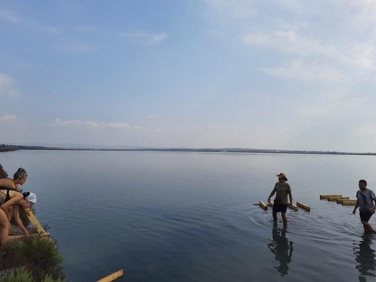 conservation camp atanasovsko lake 2021 12 1