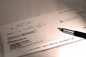 BFA Cheque