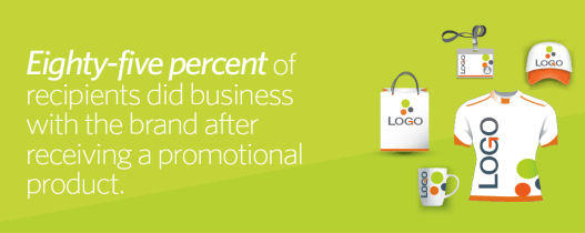Promotional products lead to a more favorable brand impression
