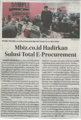 Jawa Pos, Mbiz Hadirkan Solusi E-Procurement, 28-9-2018.vr2
