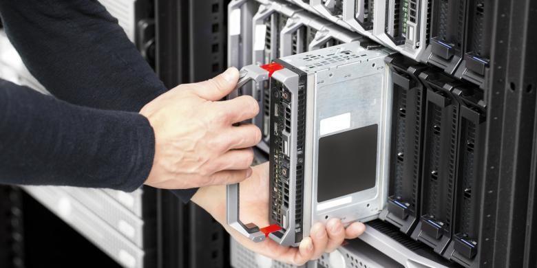 Ruang Server untuk perusahaan digital