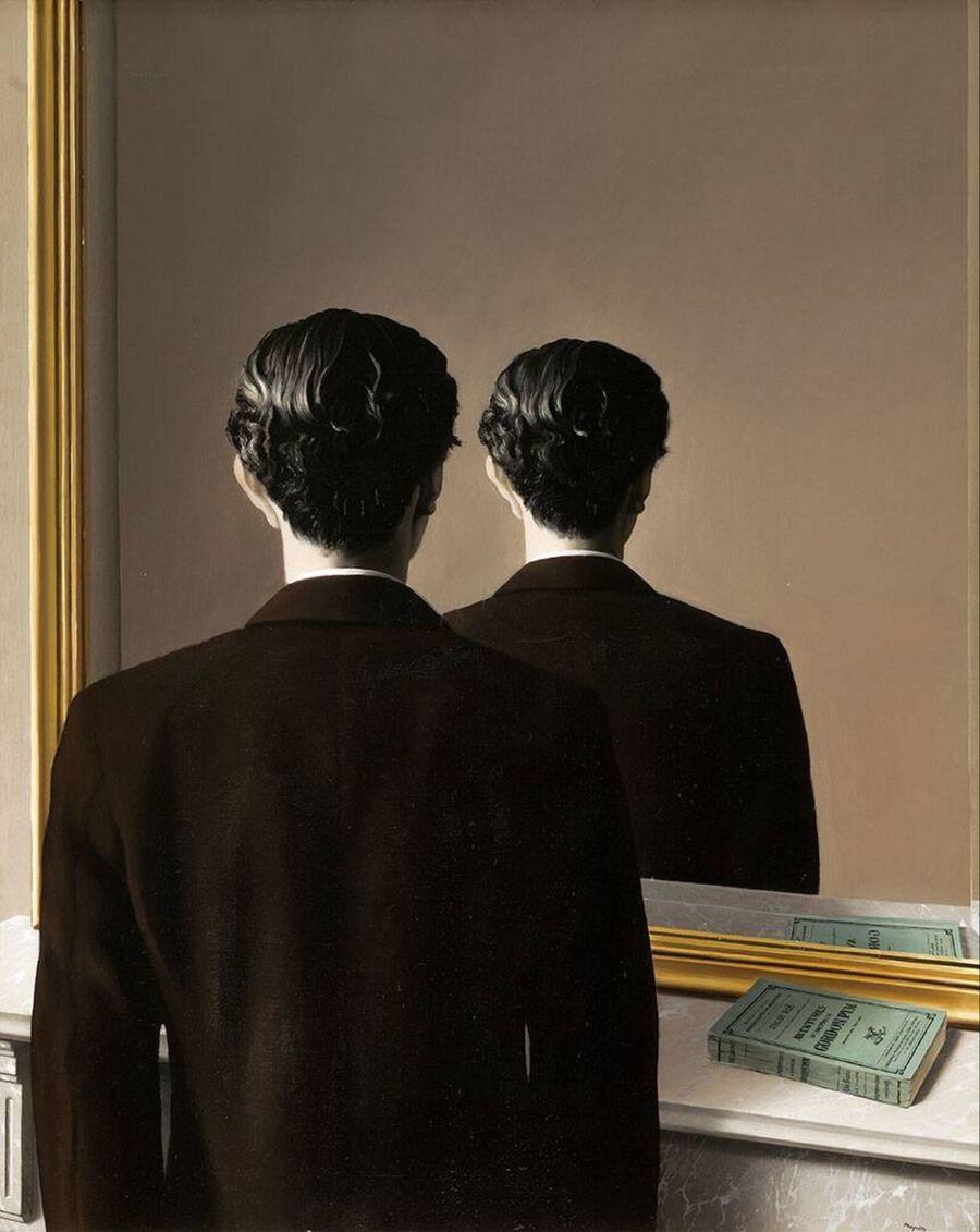 rene magritte, miroir, reproduction interdite, mirrors