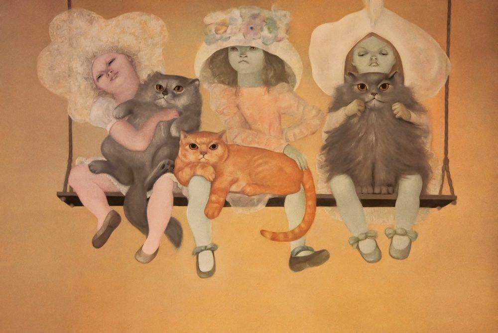 fairy tales, leonor fini, cats, insight, coaching