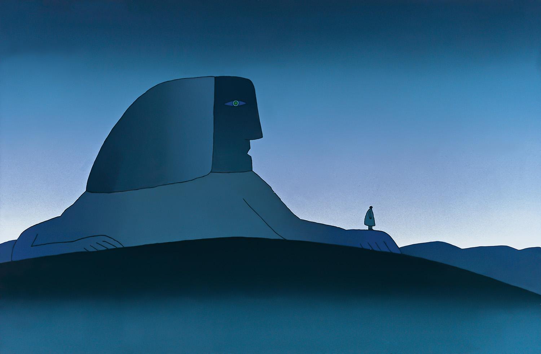 Jean-Michel FOLON - Le Sphinx, art, insight, coaching