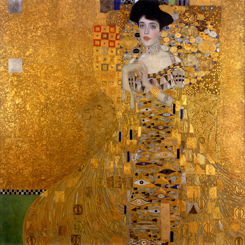 gustav_klimt_adele_bloch_1907, art, insight, coaching, heeart, knowledge