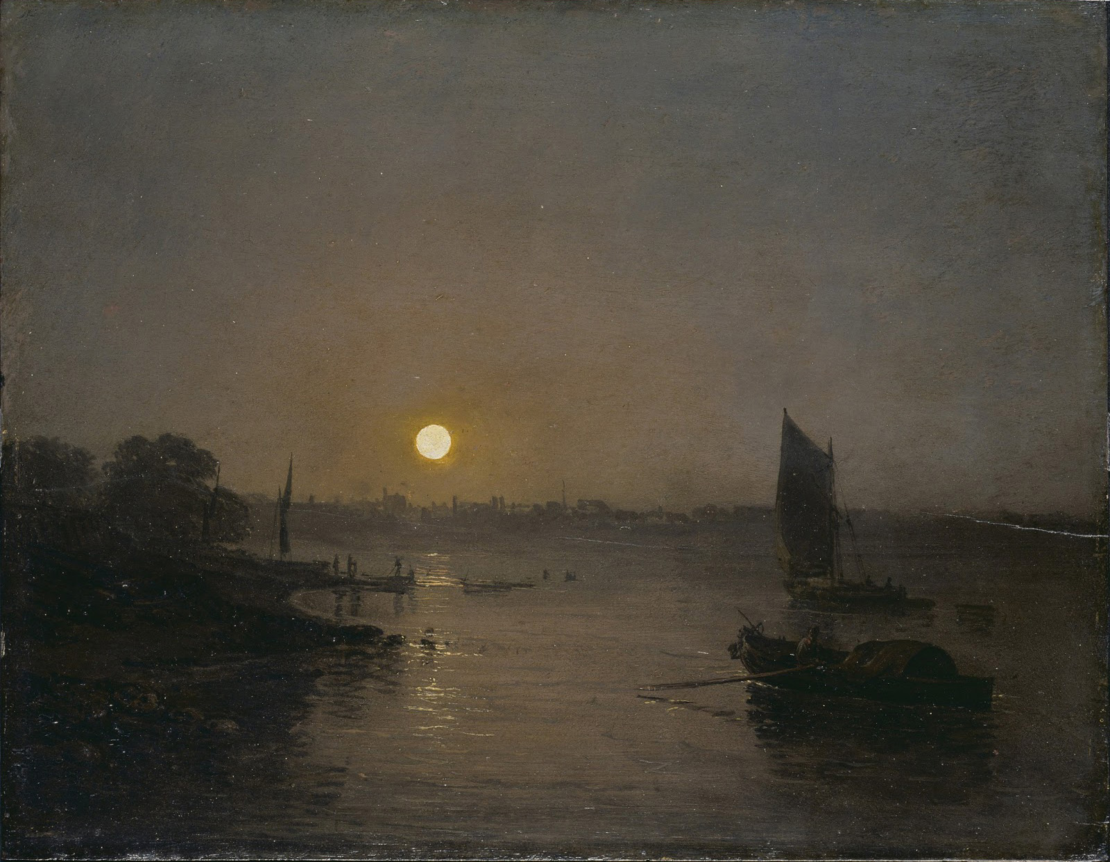 william turner, moonlight, a study at millbanks, insight, coaching, art-therapie, business coaching, career coaching, beauté