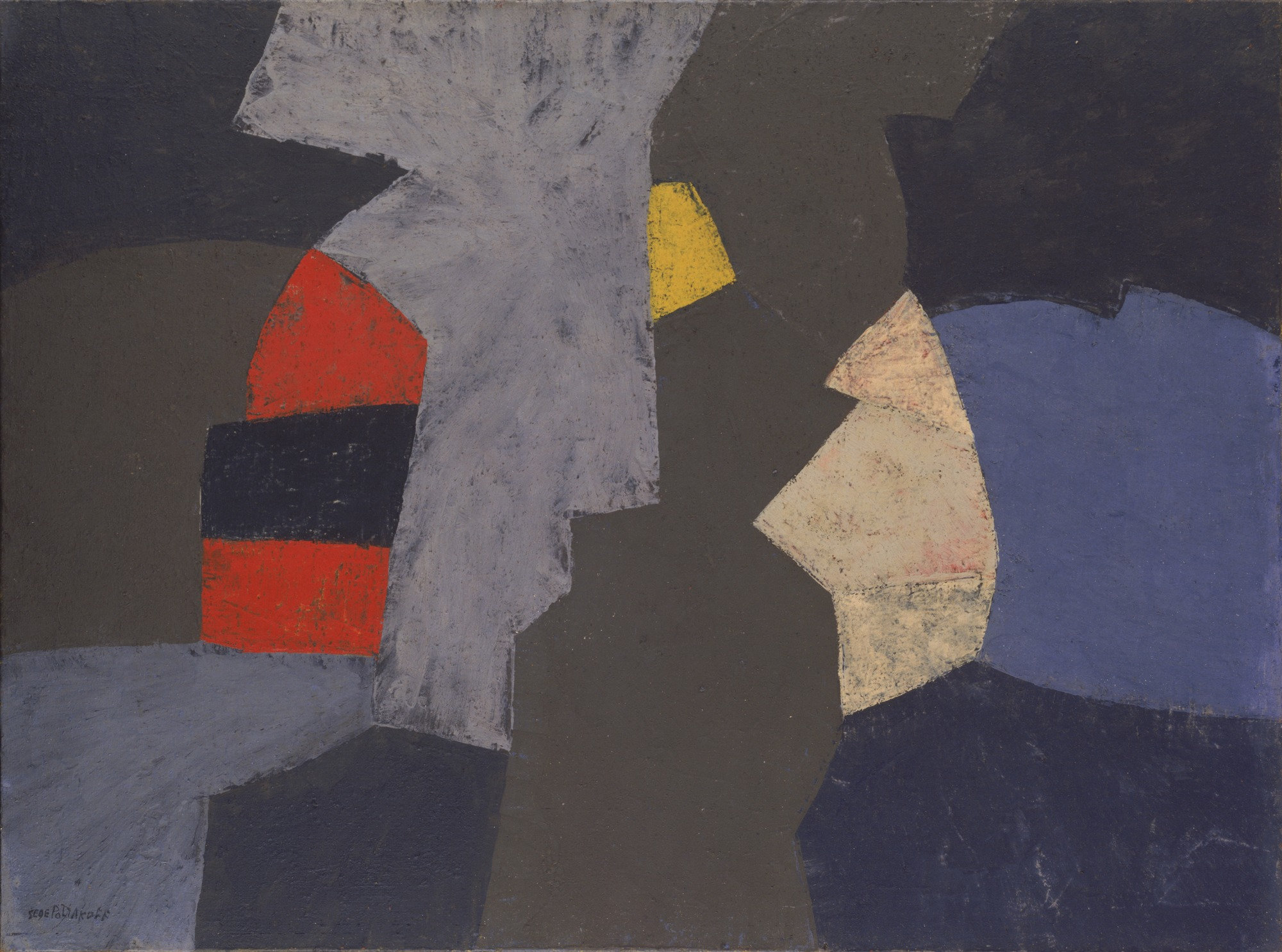 serge poliakoff, composition, reputation