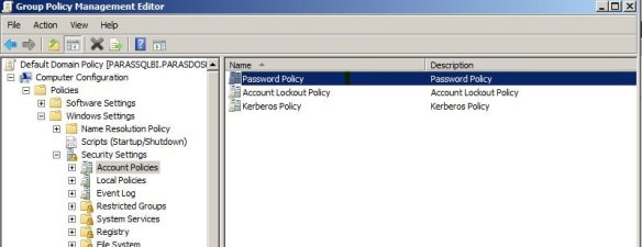 windows server 2008 r2 disable password expiration group policy management editor