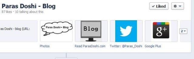 paras doshi faecbook page google plus twitter