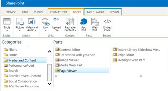 Power View sharepoint integrate embed