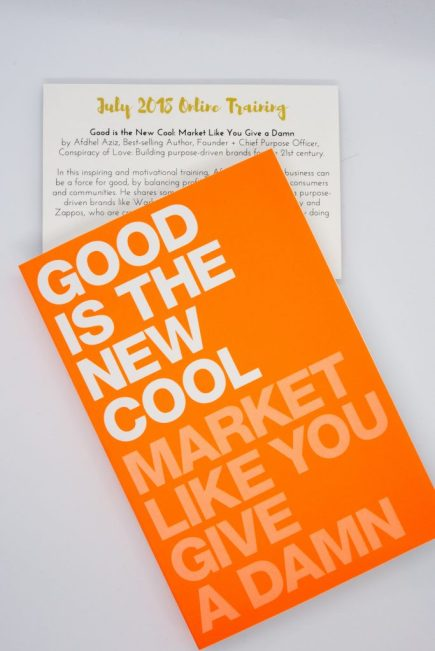 "Book cover of ""Good is the New Cool - Market Like You Give a Damn."""