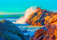 Cumbria Splashing Waves