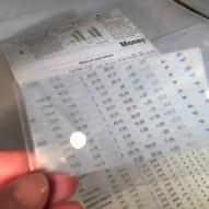 Thin-plastic Fresnel prism magnifier