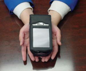 The kurzweil National Federation of the Blind Portable Reader