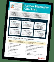 Author Bio Checklist