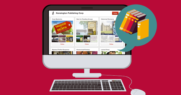Publishers Showcasing Their Books & Authors on Pinterest