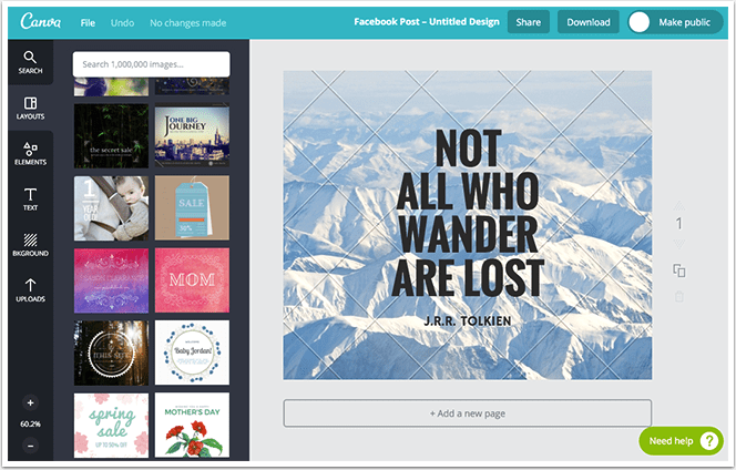 Canva Quote Example