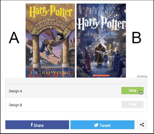 Harry Potter Cover Design Test