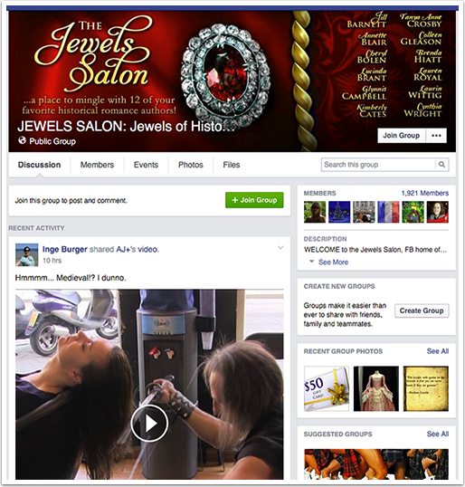 Jewels Salon Facebook Group
