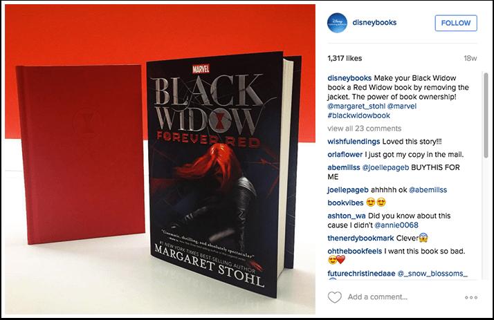 Disney Publishing Instagram