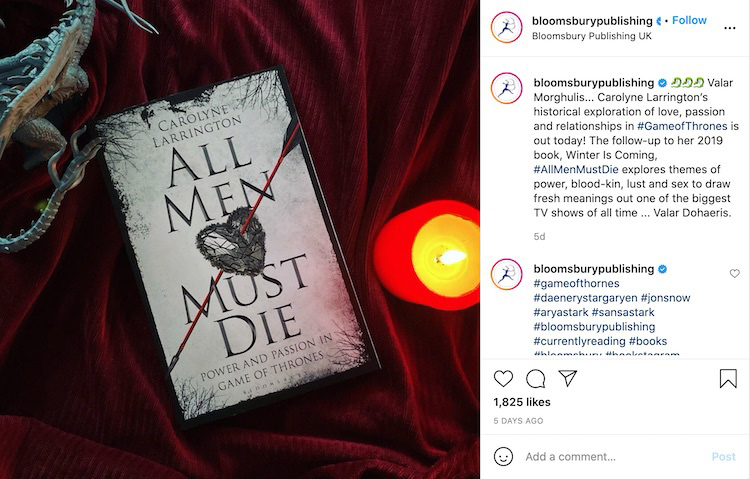 Matching Tone Publisher Bookstagram