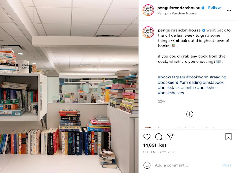 Publisher Office Instagram