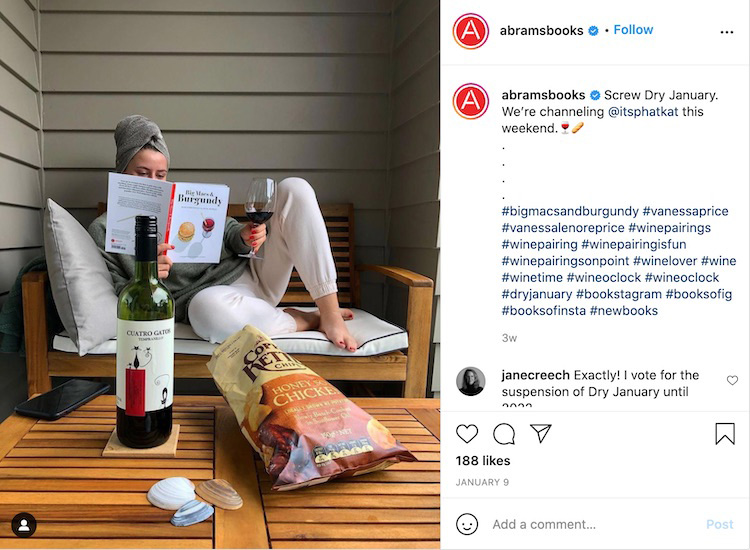Reader Enjoying Book Instagram