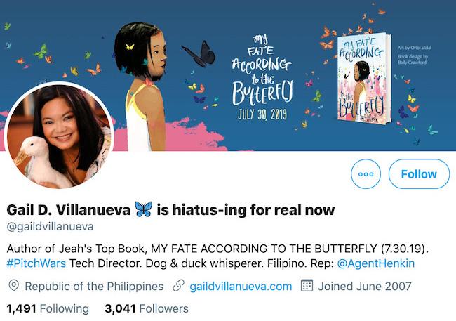 Gail D Villanueva Twitter Header