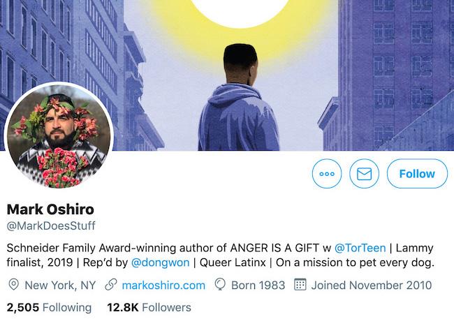 Mark Oshiro Twitter Header